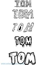 Imprimer le coloriage : Tom, numéro 3a660886