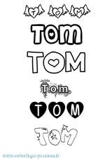 Imprimer le coloriage : Tom, numéro efbd1e73