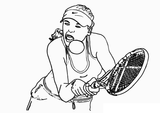 Imprimer le coloriage : Sports, numéro 514233