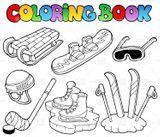 Imprimer le dessin en couleurs : Sports, numéro 671102