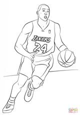 Imprimer le coloriage : Basketball, numéro 1f31e268
