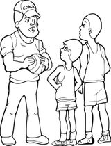 Imprimer le coloriage : Basketball, numéro 214aba40