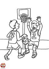 Imprimer le coloriage : Basketball, numéro 459883