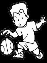 Imprimer le coloriage : Basketball, numéro 459889