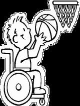 Imprimer le coloriage : Basketball, numéro 459897