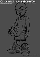 Imprimer le coloriage : Basketball, numéro 459899