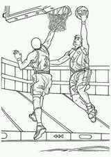 Imprimer le dessin en couleurs : Basketball, numéro 464659