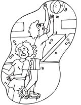 Imprimer le dessin en couleurs : Basketball, numéro 477828