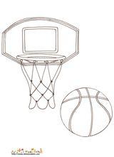 Imprimer le dessin en couleurs : Basketball, numéro 477829