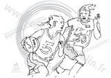 Imprimer le dessin en couleurs : Basketball, numéro 477834