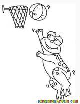 Imprimer le dessin en couleurs : Basketball, numéro 512251