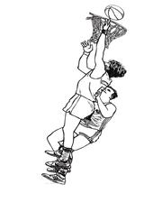 Imprimer le coloriage : Basketball, numéro 521616