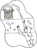 Imprimer le dessin en couleurs : Basketball, numéro 592123