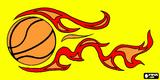 Imprimer le dessin en couleurs : Basketball, numéro 689712