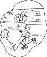 Imprimer le coloriage : Basketball, numéro ab0364e2