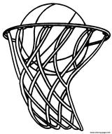 Imprimer le coloriage : Basketball, numéro ab8677d6