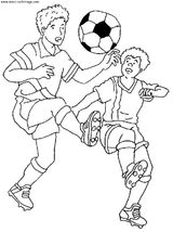 Imprimer le coloriage : Football, numéro 459846