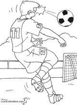 Imprimer le coloriage : Football, numéro 459855