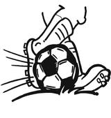 Imprimer le coloriage : Football, numéro 459873