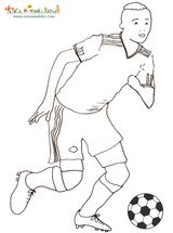 Imprimer le dessin en couleurs : Football, numéro 464619