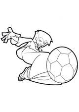 Imprimer le dessin en couleurs : Football, numéro 477822