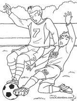 Imprimer le coloriage : Football, numéro 487889