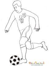Imprimer le dessin en couleurs : Football, numéro 491476