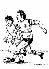 Imprimer le coloriage : Football, numéro 514235