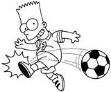 Imprimer le coloriage : Football numéro 534542