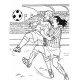 Imprimer le coloriage : Football, numéro 671538