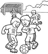 Imprimer le coloriage : Football, numéro 671540