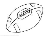Imprimer le coloriage : Football, numéro 674c8bb3