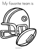 Imprimer le coloriage : Football, numéro 678542