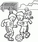 Imprimer le coloriage : Football, numéro 9c4aa1d1