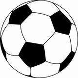 Imprimer le coloriage : Football, numéro d56b9c50