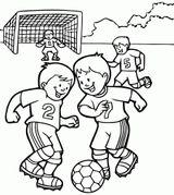 Imprimer le coloriage : Football, numéro f5fe03ff