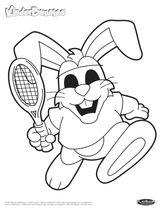 Imprimer le coloriage : Tennis, numéro 3b3f0991