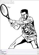 Imprimer le dessin en couleurs : Tennis, numéro 464580