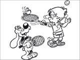 Imprimer le dessin en couleurs : Tennis, numéro 464738
