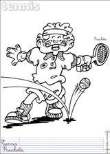Imprimer le dessin en couleurs : Tennis, numéro 464742