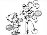 Imprimer le dessin en couleurs : Tennis, numéro 464745