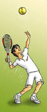 Imprimer le dessin en couleurs : Tennis, numéro 464759