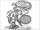 Imprimer le coloriage : Tennis, numéro 469858