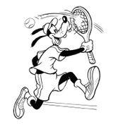 Imprimer le coloriage : Tennis, numéro 469867