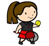 Imprimer le dessin en couleurs : Tennis, numéro 498889