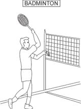 Imprimer le coloriage : Tennis, numéro a92b89ed