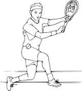Imprimer le coloriage : Tennis, numéro bb49c51a