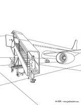 Imprimer le coloriage : Avion, numéro 1484455e