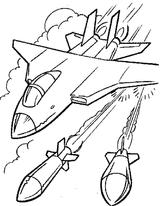 Imprimer le coloriage : Avion, numéro 18308