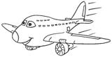Imprimer le coloriage : Avion, numéro 26685